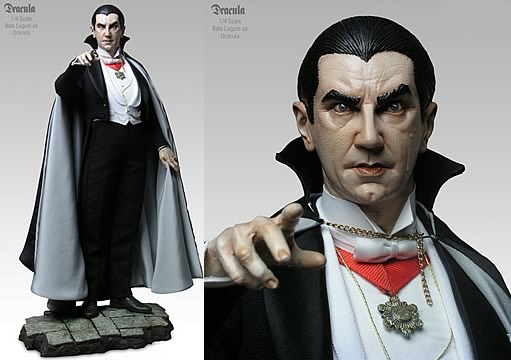 Bela Lugosi as Dracula 1:4 Scale Figure