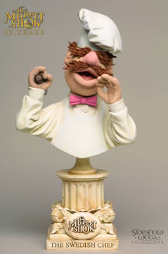 Swedish Chef Mini-Bust