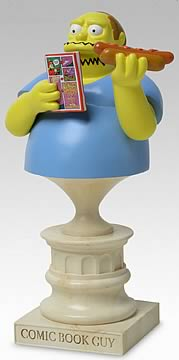 Comic Book Guy Mini Bust