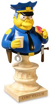 Chief Wiggum Mini Bust