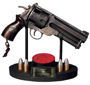 Hellboy: The Samaritan Revolver Prop Replica