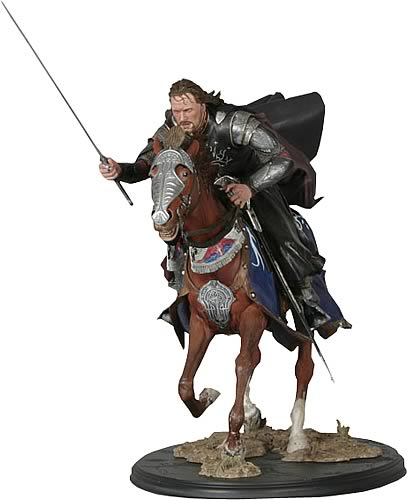 Aragorn at the Black Gates of Mordor Statue