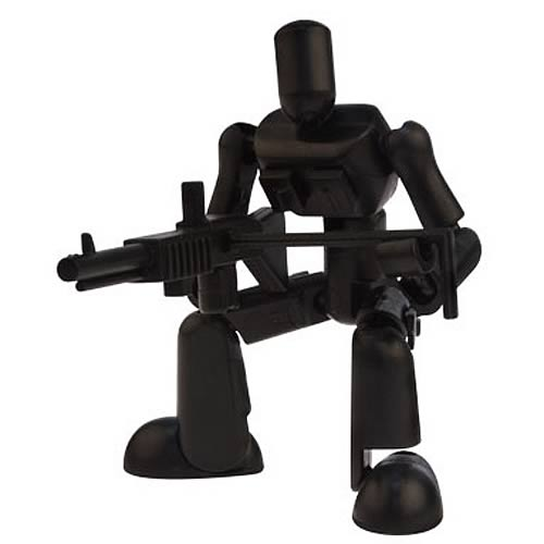 Stikfas Black Ops Gunner Action Figure