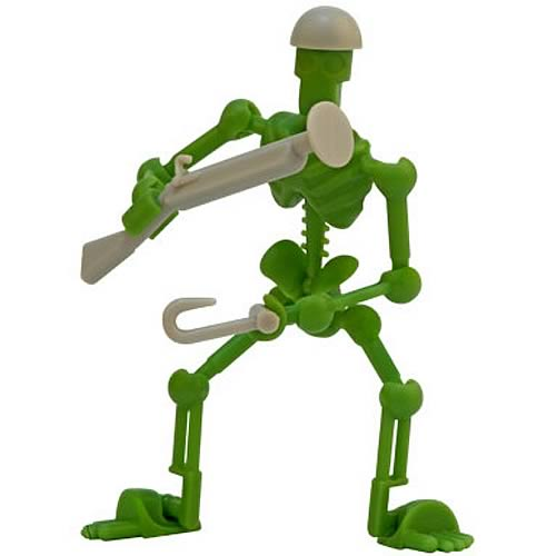 Stikfas Darkland Rickety Rick Action Figure