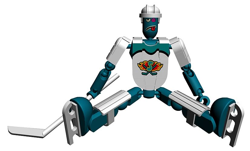 Stikfas G2 Alpha Male Ice Hockey - Teal