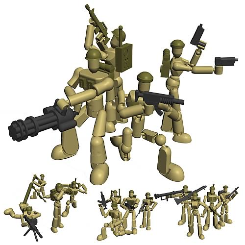Stikfas Assault Team Mega Pack