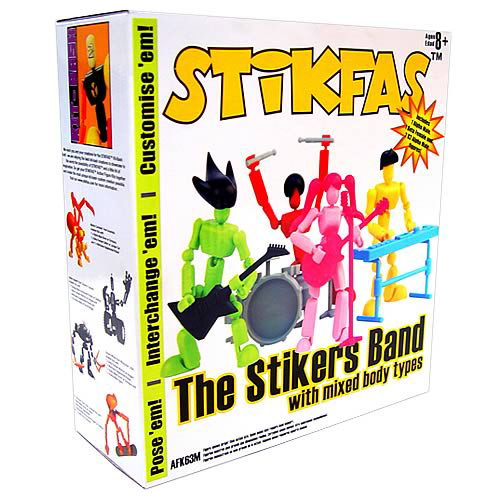 Stikfas The Stikers Band Mega Pack