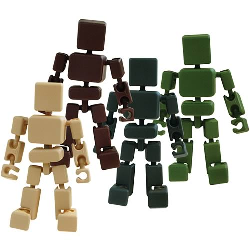 Cuboyds Series 2 Action Figure 4-Pack
