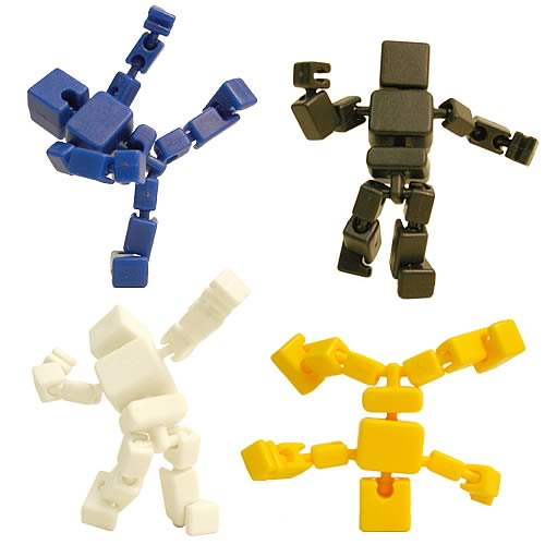 Cuboyds Action Figure Retailer 6-Pack