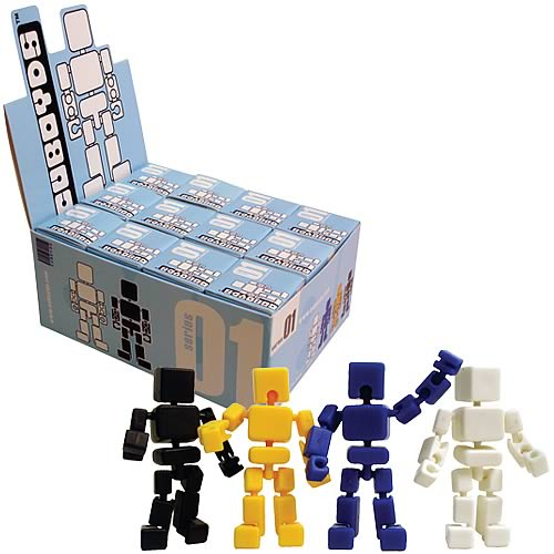 Cuboyds Action Figure Retailer Box