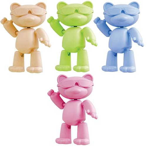 Stikfas Mbear Series 1 Action Figure 4-Pack