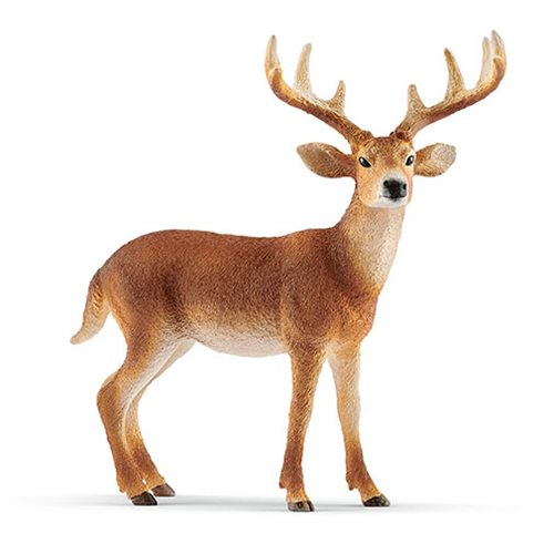 Wild Life White-Tailed Buck Collectible Figure