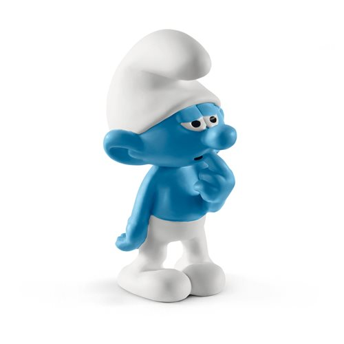 Smurfs Clumsy Smurf Collectible Figure