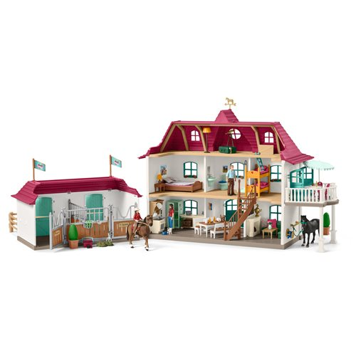 Horse Club Lakeside Country House and Stable Playset