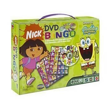 Nickelodeon DVD Bingo