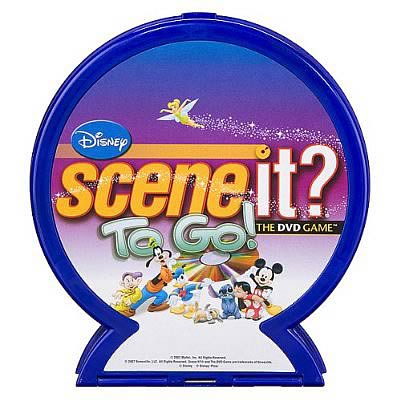 Disney Scene It? To Go Game
