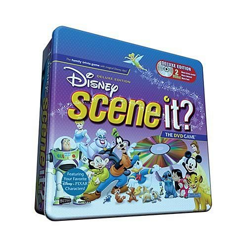 Disney Scene It? Deluxe Edition Game