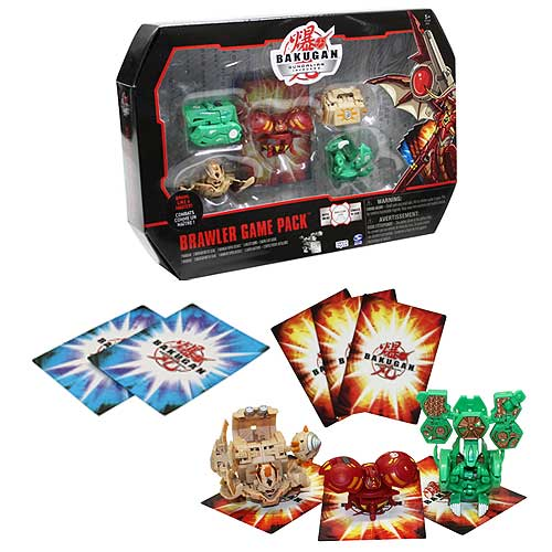 Bakugan  Brawlers Game Pack Figures