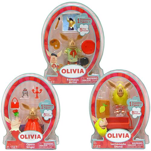 Olivia the Pig Mini Figure Assortment Case