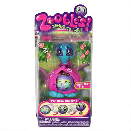 Zoobles Single Pack Mini-Figure Case Case