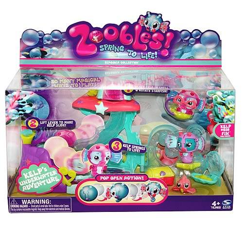 Zoobles Undersea Playset