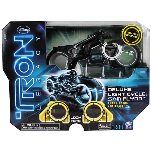 TRON Legacy Deluxe Sam Flynn Light Cycle Vehicle