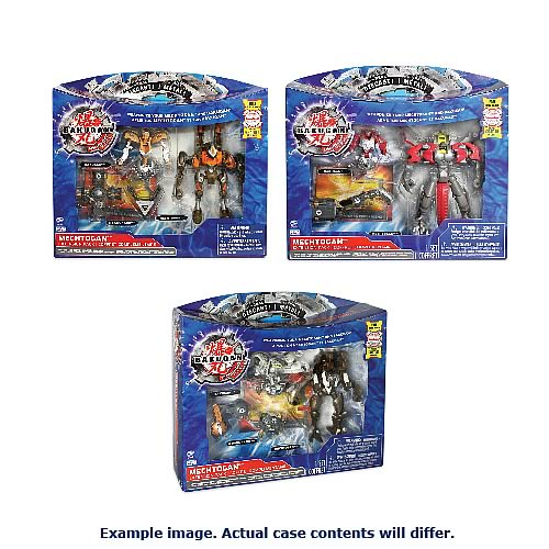 Bakugan Mechtogan Extension Pack Figures Case