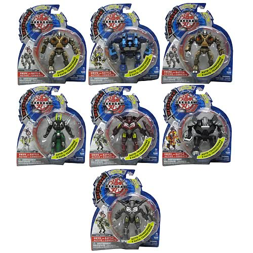Bakugan Mechtogan Season 4 Figures Case