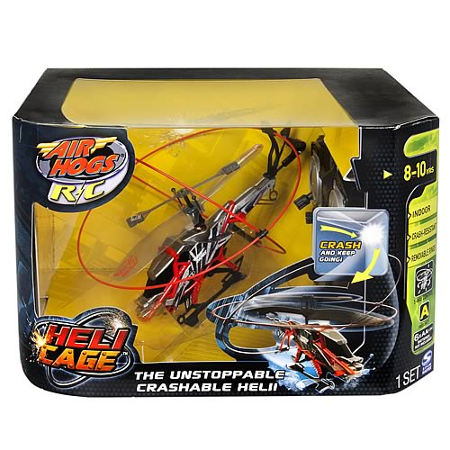 Air Hogs Heli Cage Helicopter RC Vehicle Case