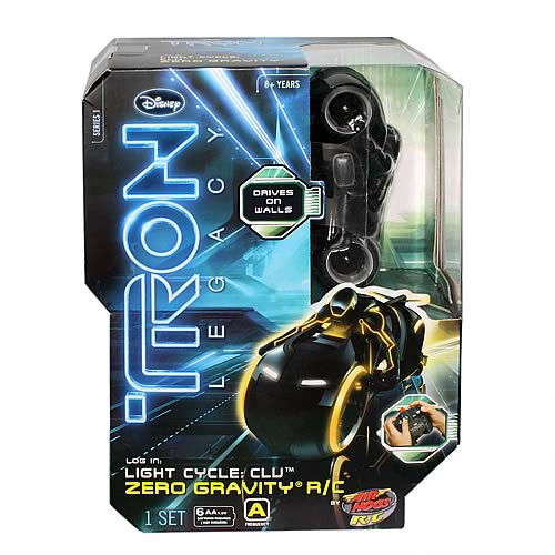 TRON Legacy Zero Gravity Light Cycle Vehicles Case