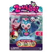 Zoobles Mama and Zooblings Mini-Figures Set