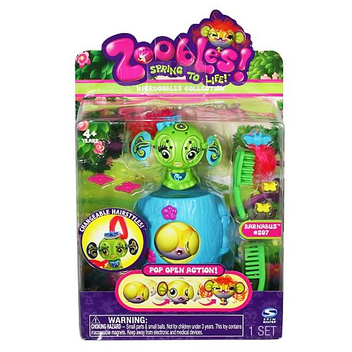 Zoobles Hairdoobles Mini-Figure Case