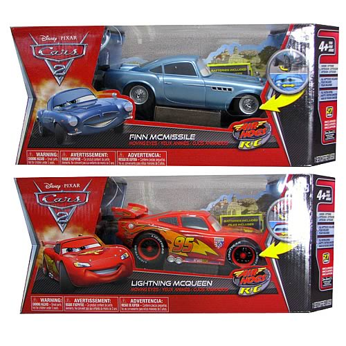 Cars 2 1:24 Scale Remote Control Vehicles Case
