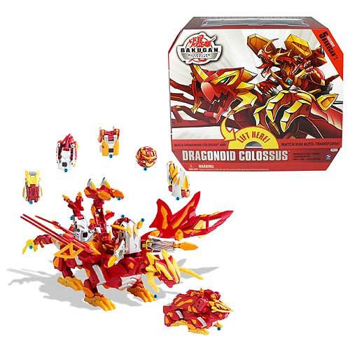 Bakugan Dragonoid Colossus Figure