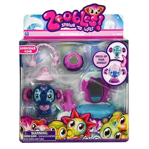Zoobles Dressoobles Mini-Figure Case
