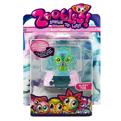 Zoobles Chatteroos Mini-Figure Case
