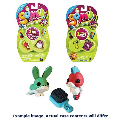 Gomu 3-Pack Assorted Erasers Case