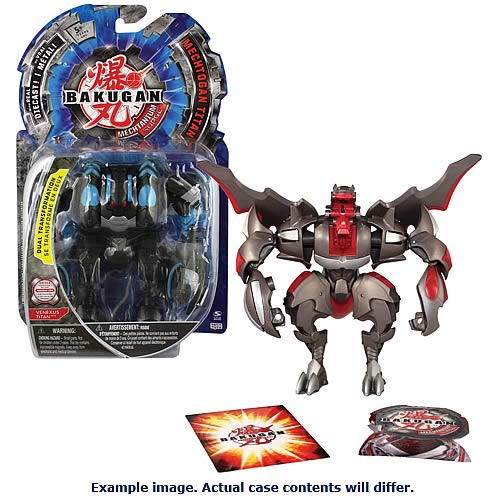 Bakugan Mechtogan Titans Deluxe Action Figures Case