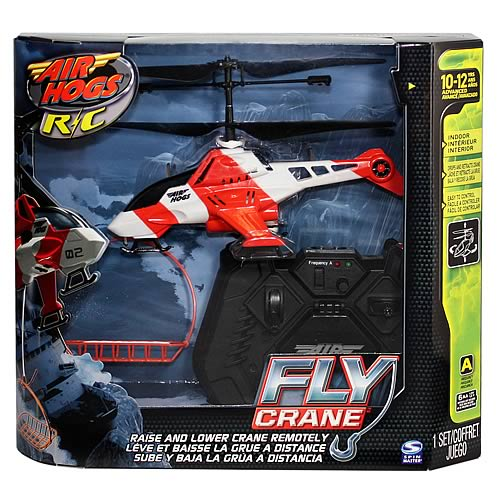 Walmart Helicopter Toys For Boys : Air hogs fly crane helicopter rc vehicle case spin