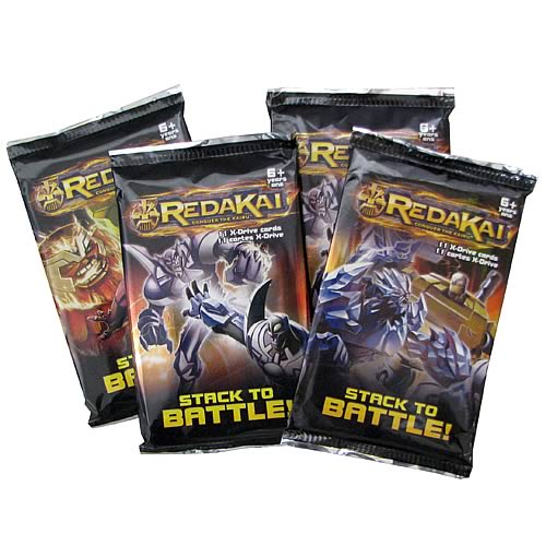 Redakai Hobby Power Pack Trading Card Game 4-Pack