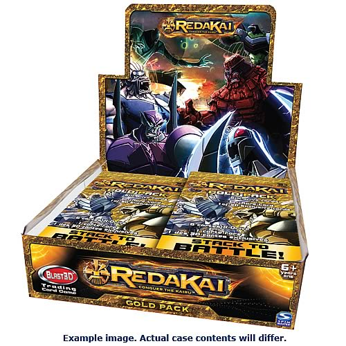 Redakai Hobby Gold Pack Trading Card Game Case