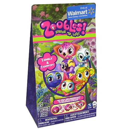 Zoobles Single-Pack Checklane Mini-Figure Case