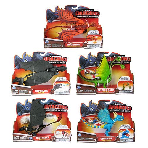 DreamWorks Dragons Action Dragons Action Figure Case