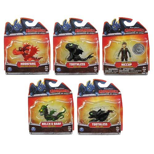 DreamWorks Dragons Mini-Dragon Mini-Figure Case