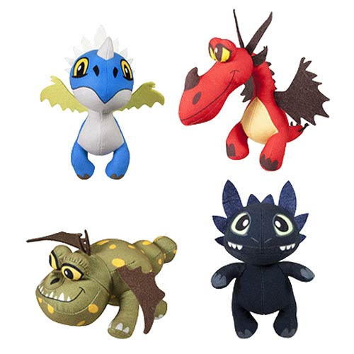 DreamWorks Dragons Dragon Buddies Plush Case