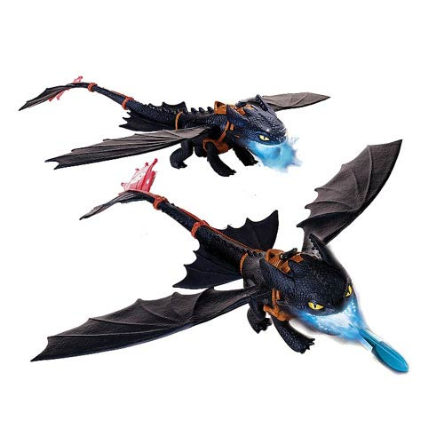 DreamWorks Dragons Giant Fire Breathing Toothless Figure