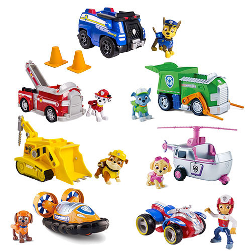 Paw Patrol Basic Vehicle With Pup Case Spin Master Paw