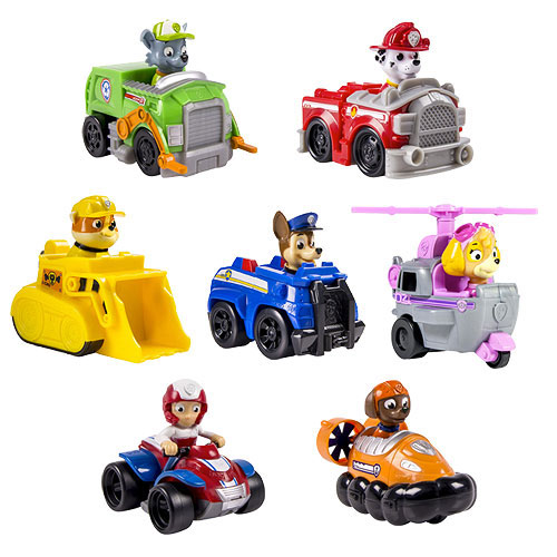 Paw Patrol Rescue Racer Vehicle Case Spin Master Paw