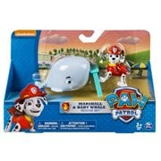 Paw Patrol Rescue Pup Marshall and Smiley Frog Figure