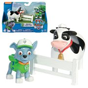 Paw Patrol Rescue Pup Rocky and Sheep Figure